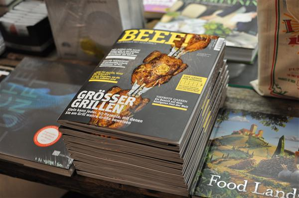 Exactly what today's man needs! A magazine dedicated to cooking meat and nothing else.